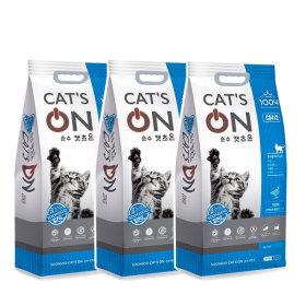 캣츠온 5kg X 3개 고양이사료 무료배송