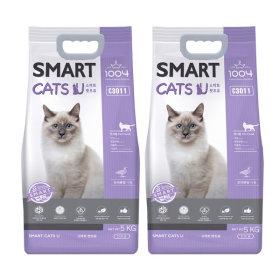 캣츠유 5kg X 2개 고양이사료 무료배송