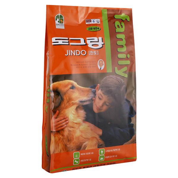 훼미리 진도견 10kg/도그랑 강아지사료 애견 상품이미지