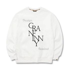 그랜피니 남녀공용 맨투맨 티셔츠 NGMC 빅사이즈