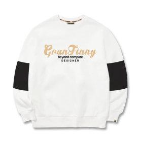 그랜피니 남녀공용 맨투맨 티셔츠 NGME 빅사이즈