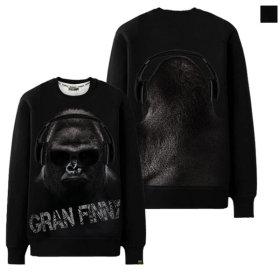 그랜피니 남녀공용 맨투맨 티셔츠 NGMH 빅사이즈