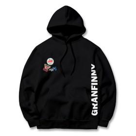 그랜피니 남녀공용 후드 티셔츠 GHG 빅사이즈