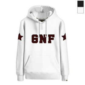 그랜피니 남녀공용 후드 티셔츠 GHO 빅사이즈