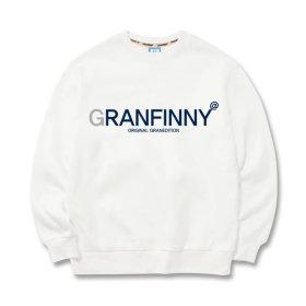 그랜피니 남녀공용 맨투맨 티셔츠 GMA 빅사이즈