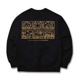 그랜피니 남녀공용 맨투맨 티셔츠 GMG 빅사이즈