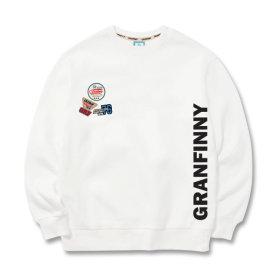 그랜피니 남녀공용 맨투맨 티셔츠 GMK 빅사이즈