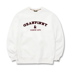 그랜피니 남녀공용 맨투맨 티셔츠 GMM 빅사이즈
