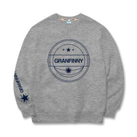 그랜피니 남녀공용 맨투맨 티셔츠 GMR 빅사이즈