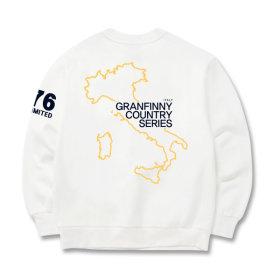 그랜피니 남녀공용 맨투맨 티셔츠 GMT 빅사이즈