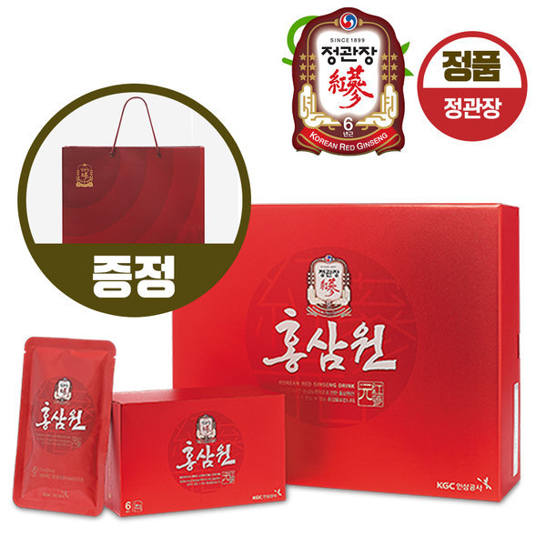 정관장 홍삼원 50ml30포 선물하기 좋은 쇼핑팩 증정 상품이미지