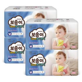 원더 팬티 대형 여아 30매 x 4팩
