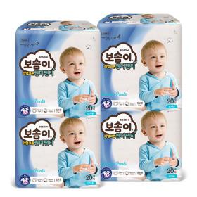 원더 팬티 점보 남아 20매 x 4팩