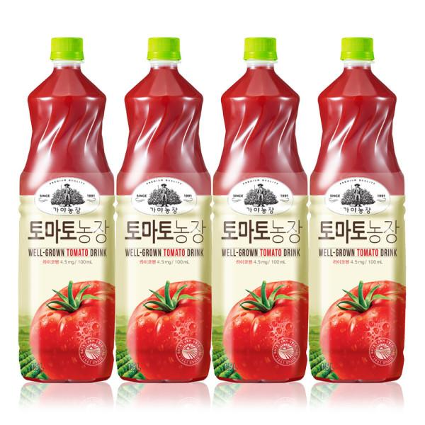 가야농장 토마토1.5Lx4 상품이미지