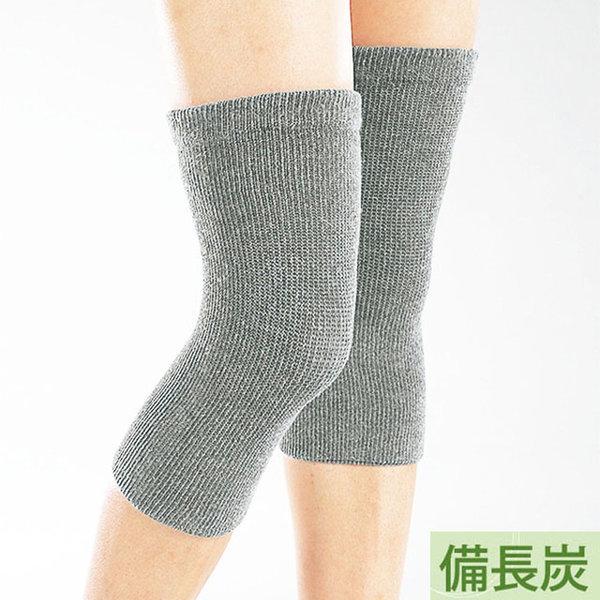 일본 비장탄 발열 무릎보호대 2매 (보온용 무릎아대) 상품이미지