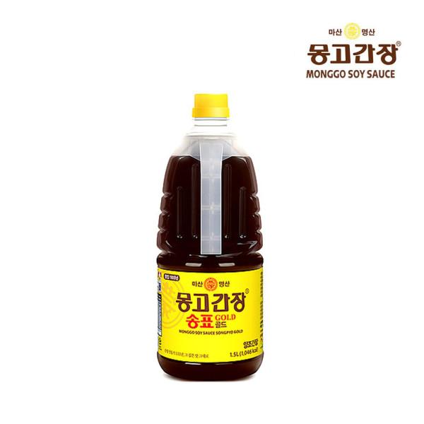 몽고간장 송표골드 1.5L / 마산몽고간장 / 양조간장 상품이미지