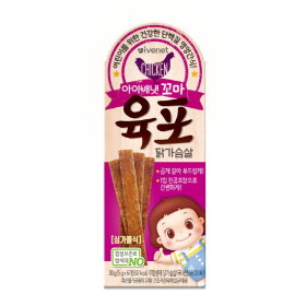 (1+1)아이배냇_꼬마육포닭가슴살_30g