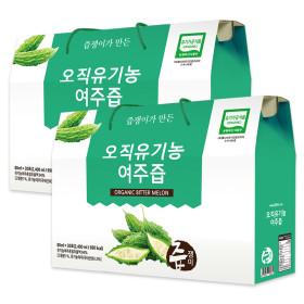 즙쟁이 유기농 여주즙 2박스 60포