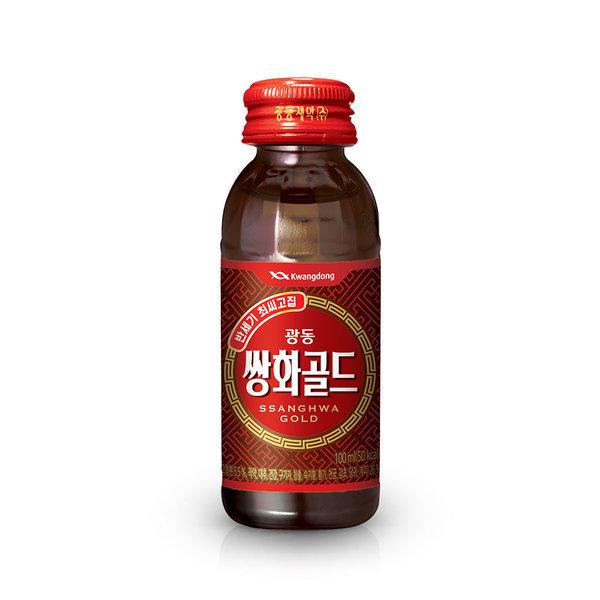 쌍화골드 100ml x 20병/음료/음료수/쌍화탕/쌍화차 상품이미지