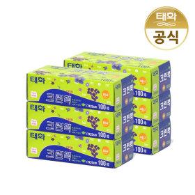 위생백비닐백봉투/ 태화 크린팩 (소 100매 x 6P)