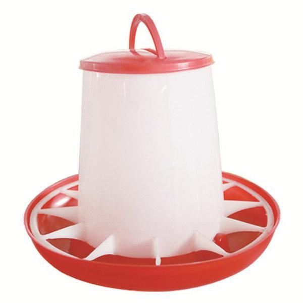 닭 병아리 원형 모이통 B타입 4kg 자동 사료통 양계장 상품이미지