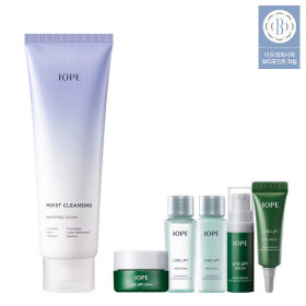 IOPE MOIST CLEANSING WHIPPING FOAM