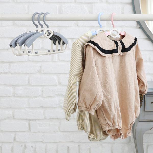 새싹옷걸이 확장형 1+9세트 길이조절 아기옷걸이 상품이미지