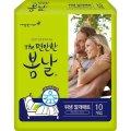봄날 더 편안한 성인용 위생 깔개매트 10px10팩