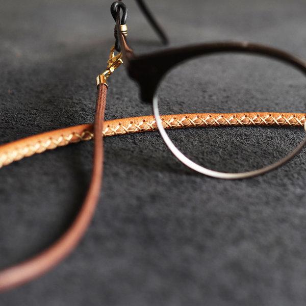 에치펠레 천연가죽으로 감싼 안경줄 고리교체형 상품이미지