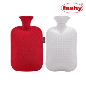 FASHY파쉬 보온물주머니 핫팩 2L +폴리커버(레드)