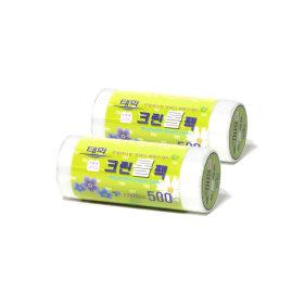 위생백비닐백봉투/ 태화 크린롤팩 (소 500매 x 2P)