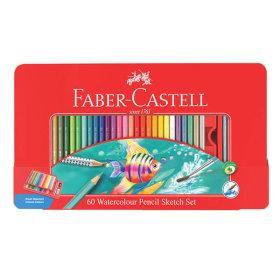 파버카스텔 수채 색연필 60색 (틴케이스)