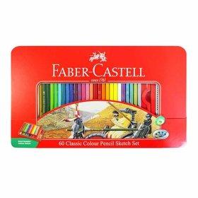 파버카스텔 유성 색연필 60색 (틴케이스)