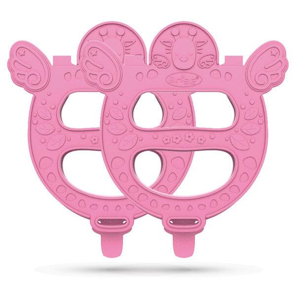 아기띠 치발기 핑크 2개입 국민치발기세트 상품이미지
