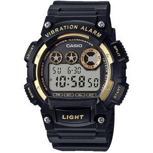 [카시오]카시오정품 W-735H-1A2 진동알람 스포츠 전자손목시계