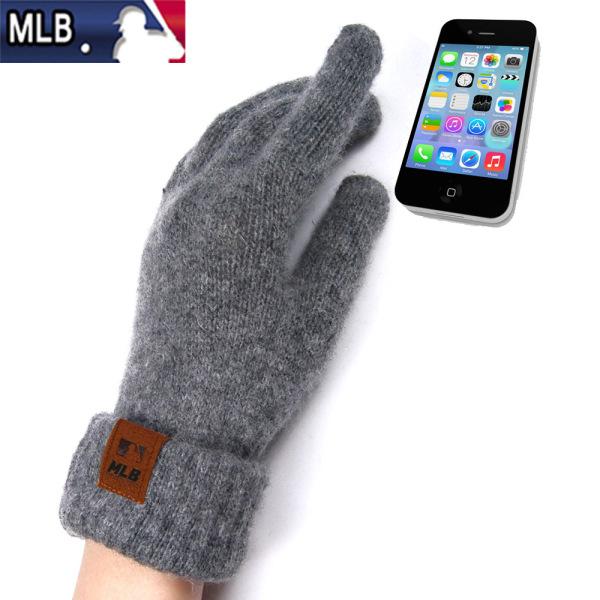 MLB 울 터치장갑 스마트폰장갑 겨울장갑 방한장갑 상품이미지