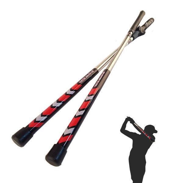 파워스틱 골프 스윙 연습기 비거리향상 스윙연습기 상품이미지
