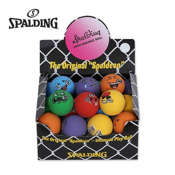 스팔딩 하이바운스 탱탱볼(스마일) 미니농구공 핸드볼 상품이미지
