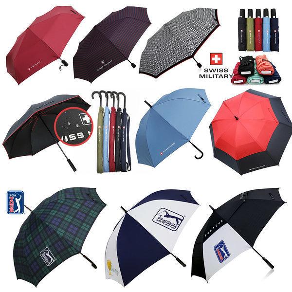 PGA 우산 특가 골프 장우산 3단 2단 상품이미지