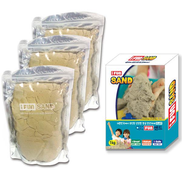 아이펀샌드 옥토넛 모래놀이 모래 3kg 상품이미지