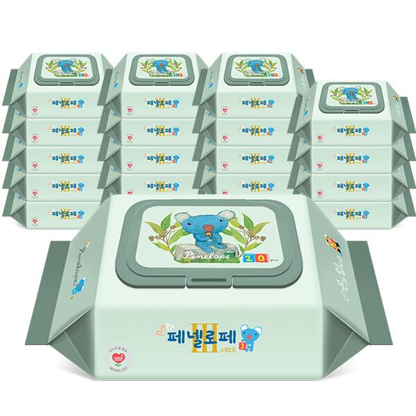 아기물티슈 3세대 손과입티슈 캡형 20매x20팩 상품이미지