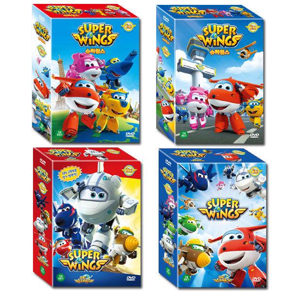 DVD 슈퍼윙스 SUPER WINGS 1+2+3+4집 42종세트 사은품증정 상품이미지