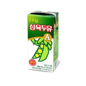 삼육두유 고소한맛 A 190ml 48팩 영양간식 음료 선물