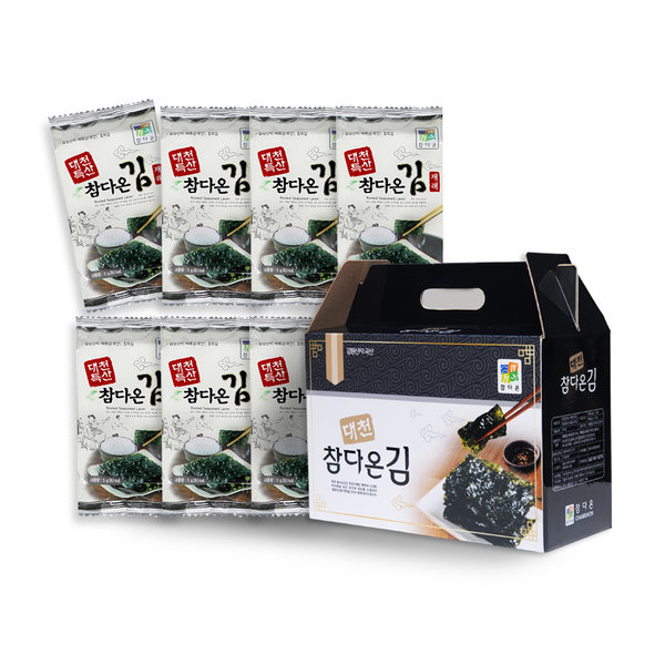 대천참다온김/김세트2호(도시락김15봉) 상품이미지