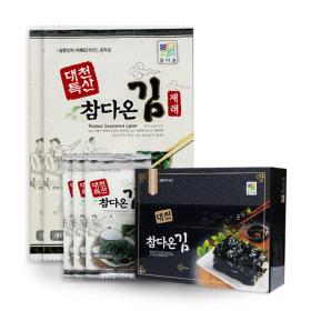 대천참다온김/김세트4호(전장김9봉+도시락김15봉)