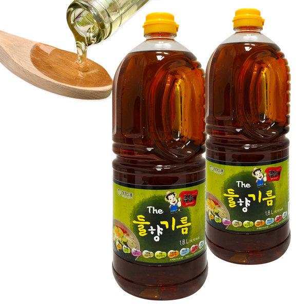 들기름 맛기름 향미유 업소용 CJG001-3 더들향기름1.8L 상품이미지