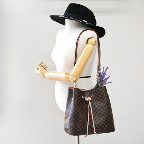 가죽콤비 가방 숄더백 토드백 버킷백 여성가방 S737