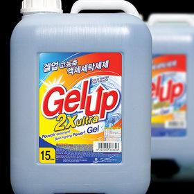 Gel Up 2X ultra liquid detergent 15kg (Top-loading)