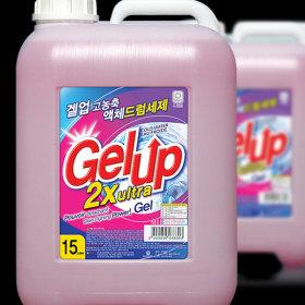 Gel Up 2X ultra liquid detergent 15kg (Front-loading)