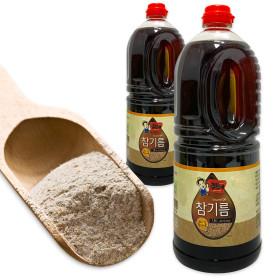 참기름 참깨가루 업소용 CJF001-1 고소한참기름 1.8L